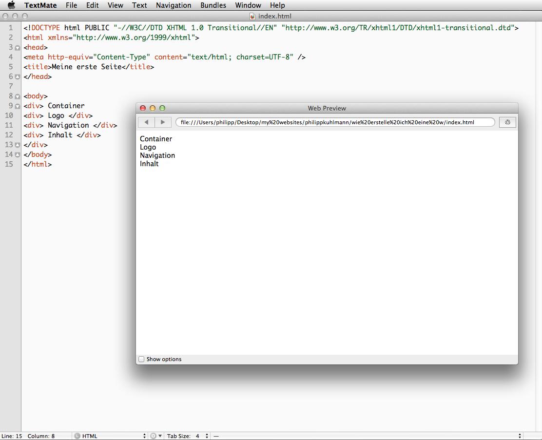 Wie erstelle ich eine Homepage? (Teil 10 – die ersten Schritte mit HTML und CSS)
