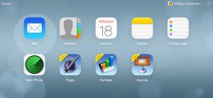 iCloud im iOS 7 Look