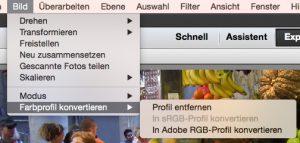 Nach Adobe RGB konvertieren