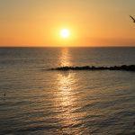Noch ein Sonnenuntergang im Centro Storico Gallipoli