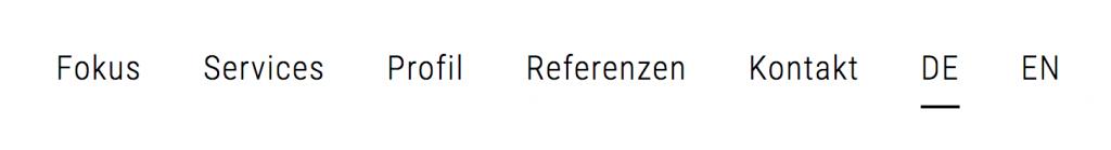 Normale Sprachdarstellung ohne CSS Anpassungen