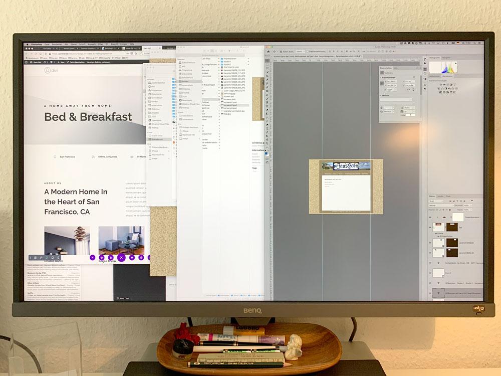 Monitor für Mac: Meine Empfehlung BenQ!